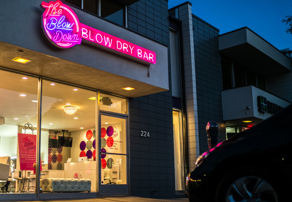 The Blow Down Blow Dry Bar